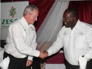 Luangwa Handover D Van Zyl & Copperbelt Minister