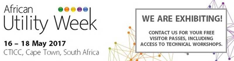 African Utility Week – 16 – 18 May 2017 – CTICC Cape Town